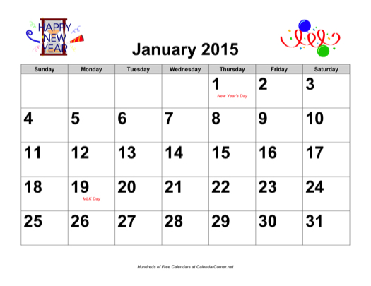 Printable Calendar 2015 Year To View/page/2 | New Calendar Template ...